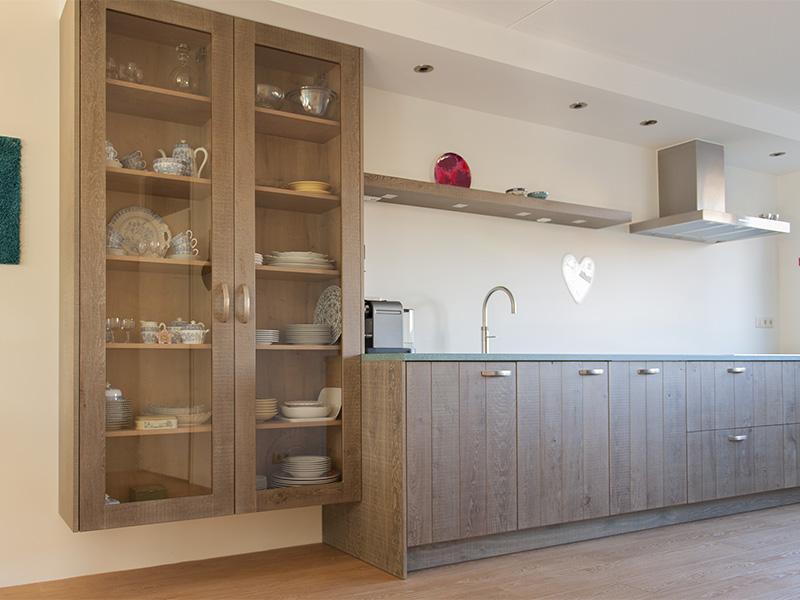 Stoere Keuken Grey : Stoere eiken keuken