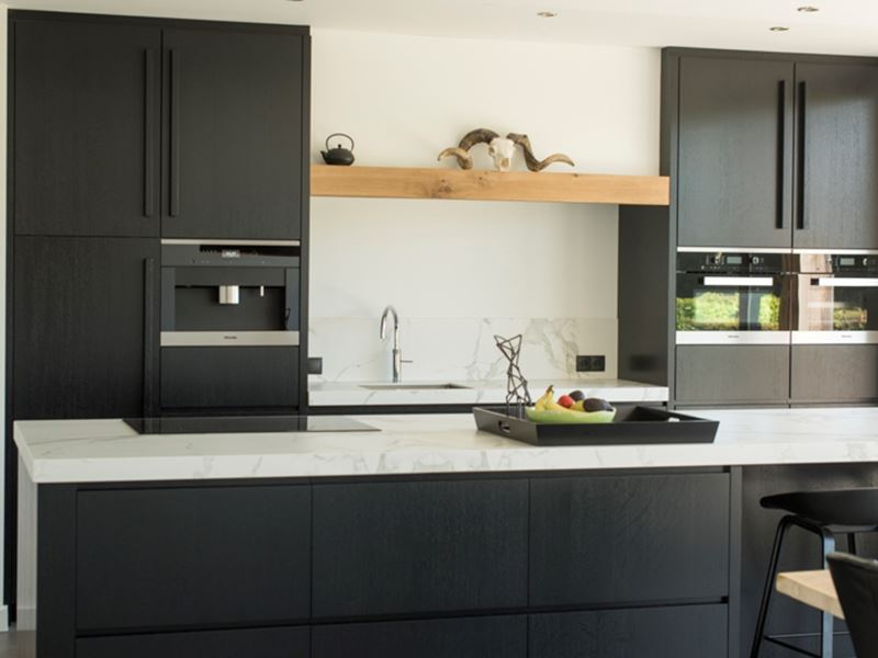 Keuken Eiken Zwart : Keuken eiken zwart eigen huis en tuin