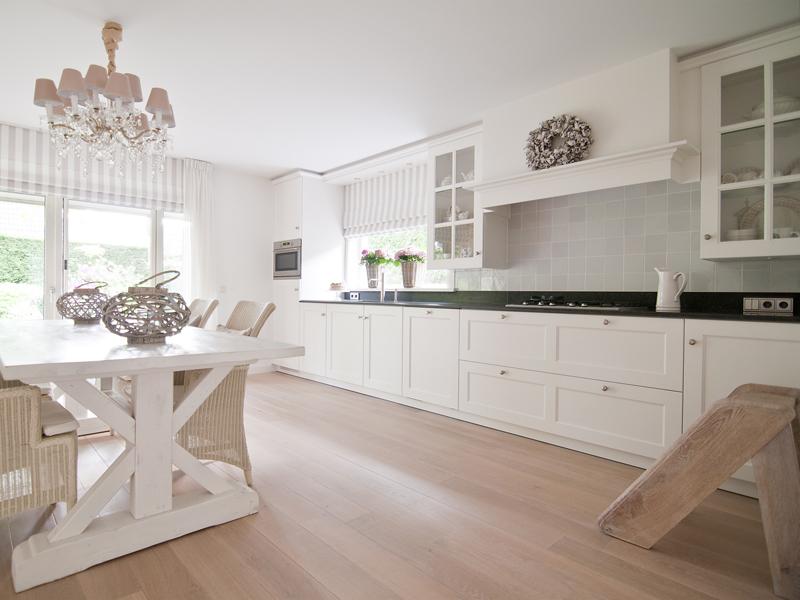 Keuken wit - Keuken wit en groen ...